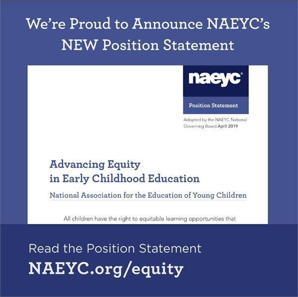 Advancing Equity in Early Childhood Education
